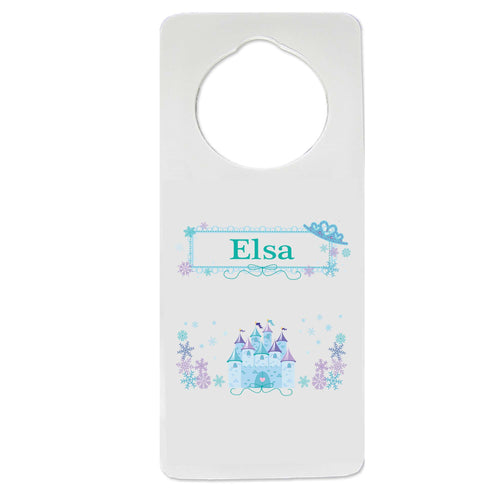 Winter Castle Door Hanger