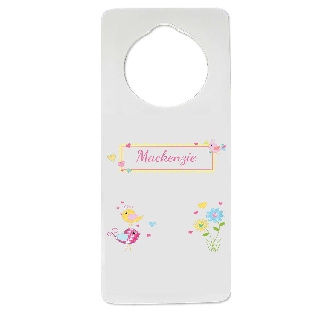 Love Birds Door Hanger