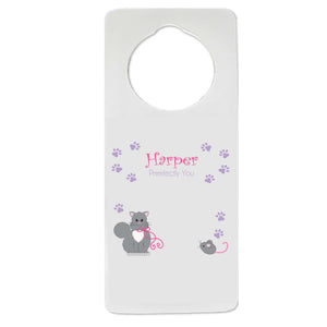 Kitty Cat Door Hanger
