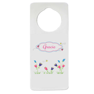 English Garden Door Hanger