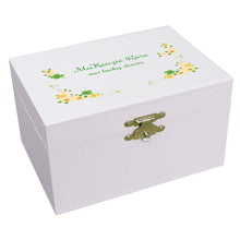 Shamrock Musical Ballerina Jewelry Box