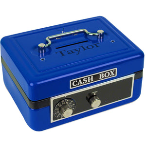 Personalized Golf Childrens Blue Cash Box