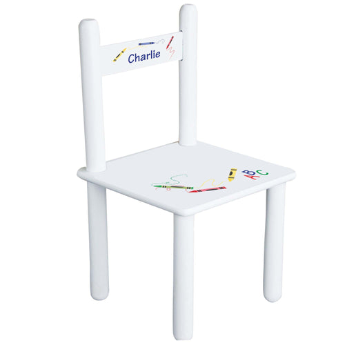Child's Crayon Chair