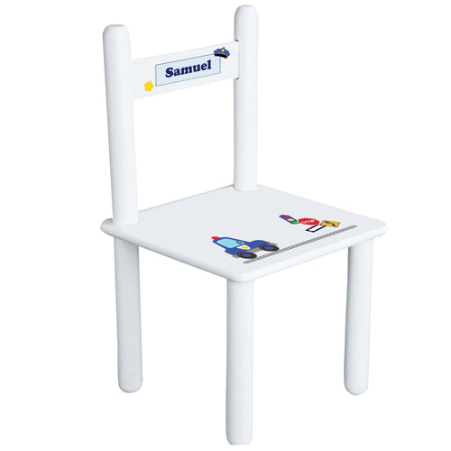 Child's Police Chair