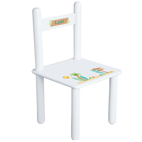 Personalized Child's Surfs Up Chair