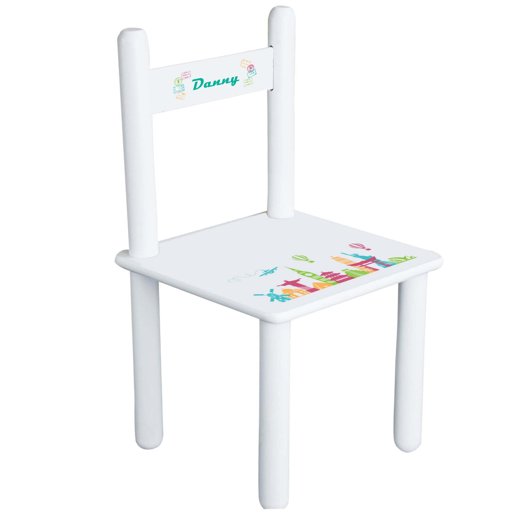 Personalized World Travel Chair