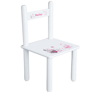Personalized Pink Rock Star Chair