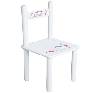 Personalized Child's Unicorn Chair