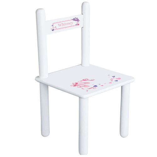Personalized Ballet Princess Chair
