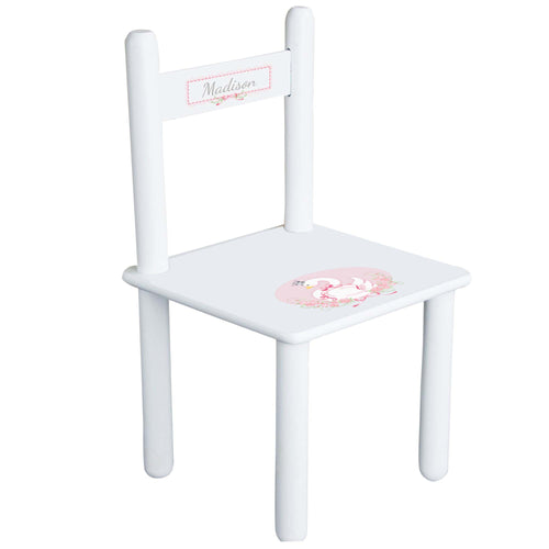 Personalized Princess Swan Chair
