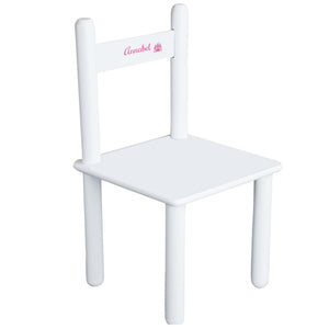 Child's Single Castle Chair