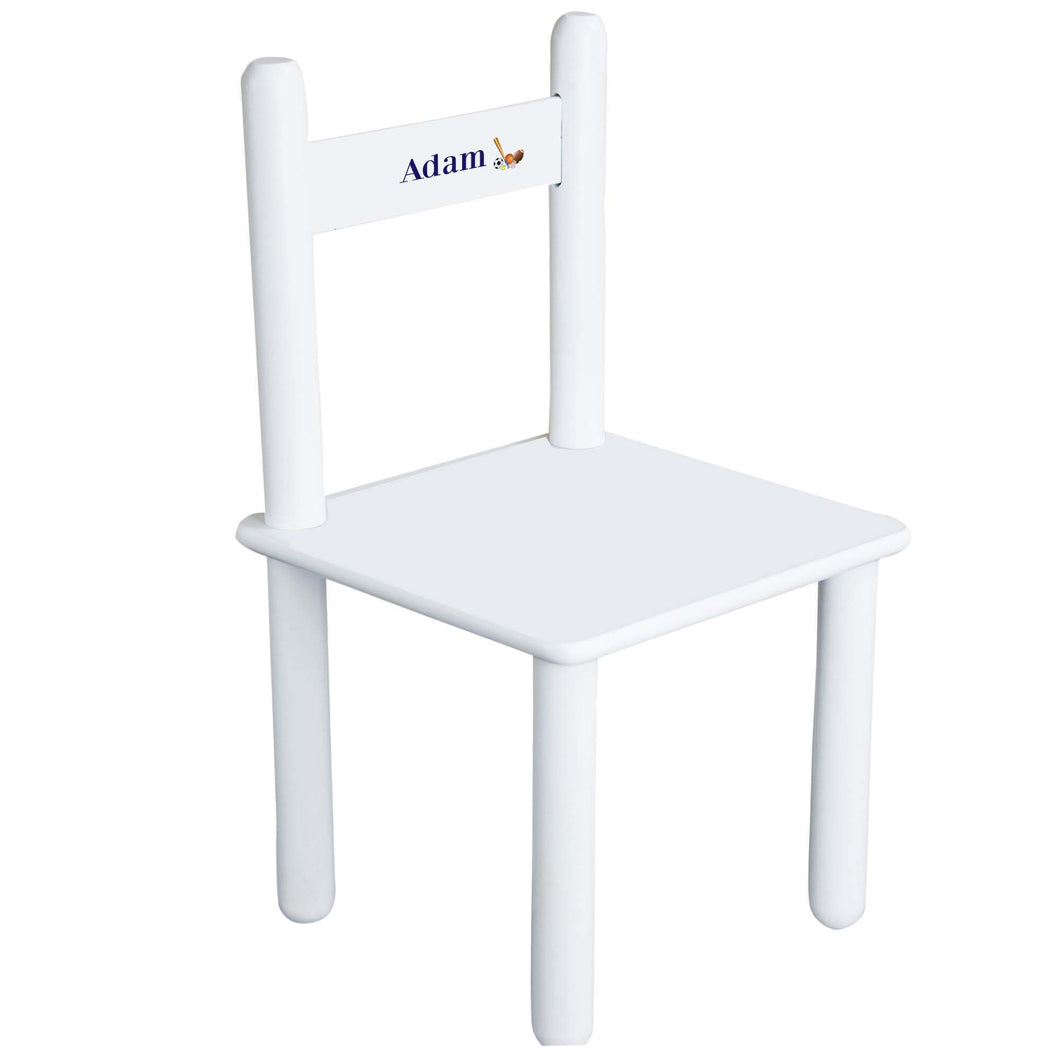 Child's Single Sports Chair
