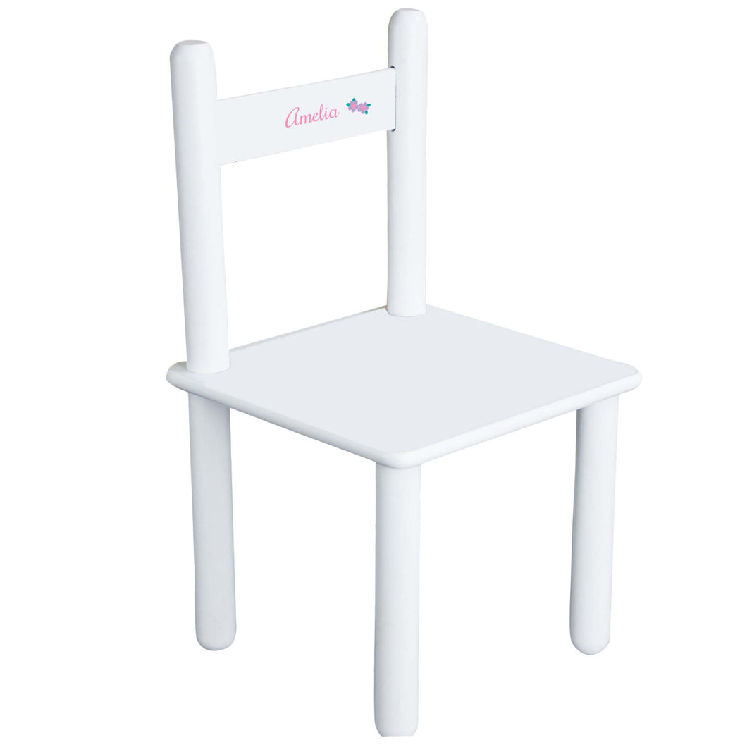 Child's Single Flower Chair