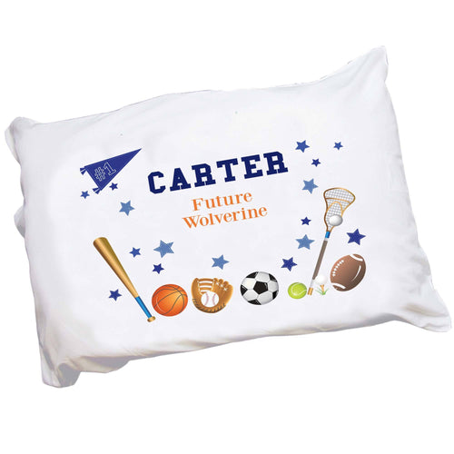 Personalized Sports Pillowcase