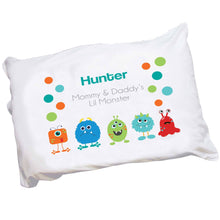 Personalized Monsters Pillowcase
