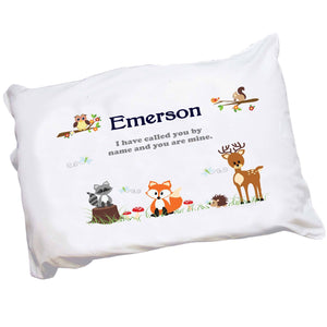 Personalized Woodland Pillowcase