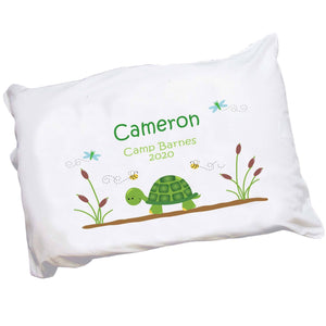 Personalized Turtle Pillowcase