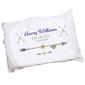 Personalized Tribal Arrow Pillowcase