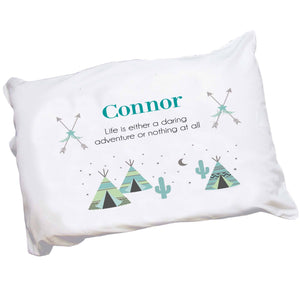 Personalized Teepee Pillowcase