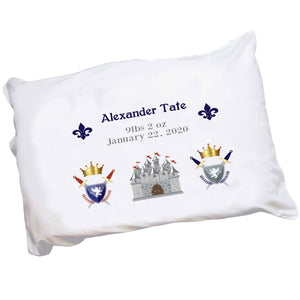 Personalized Medieval Castle Pillowcase