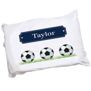 Personalized Soccer Pillowcase