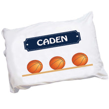 Personalized Basketball Pillowcase