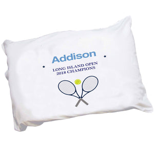 Personalized Tennis Pillowcase