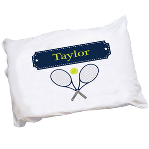 Personalized Pillowcase with Tennis