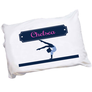 Personalized Gymnast Pillowcase