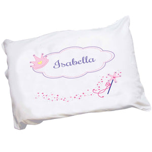 Personalized Childrens Pillowcase with Fairy Princess design