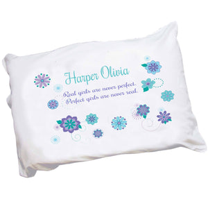 Personalized Florascope Pillowcase