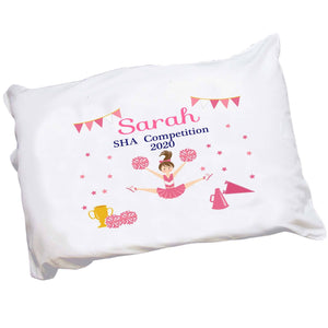 Personalized Cheerleader Pillowcase