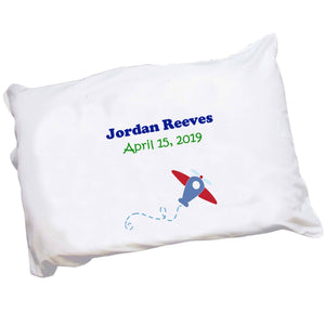 Personalized Pillowcase - Single Plane