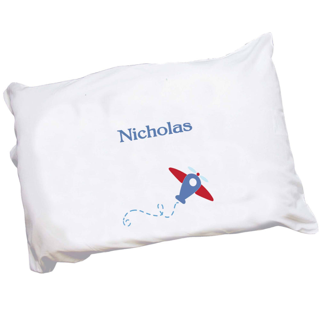 Personalized Childrens Pillowcase with Single Plane design