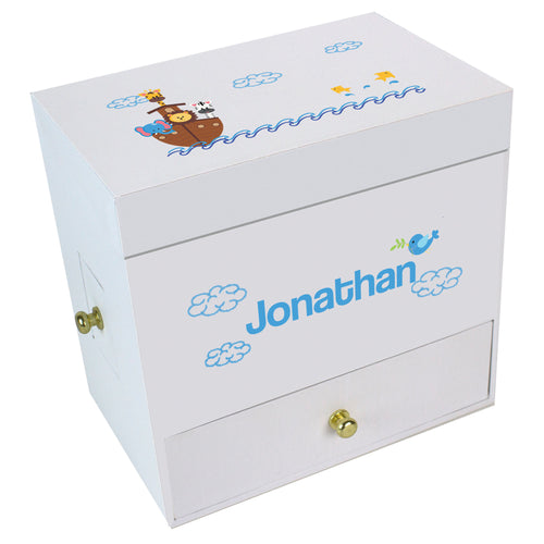 Noah's Ark Deluxe Musical Ballerina Jewelry Box