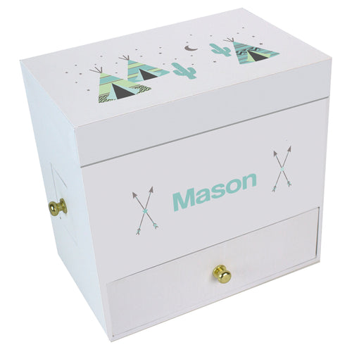 Teepee Deluxe Musical Ballerina Jewelry Box