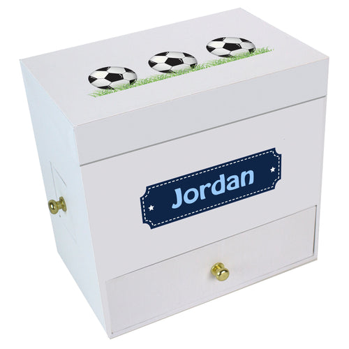 Soccer Deluxe Musical Ballerina Jewelry Box