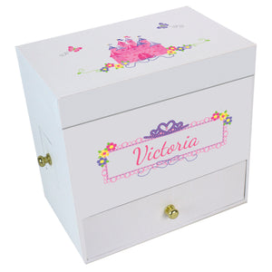 Princess Castle Deluxe Musical Ballerina Jewelry Box