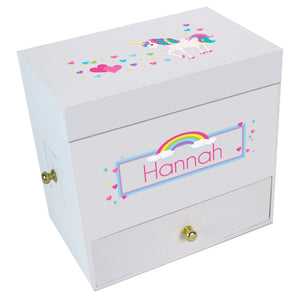 Unicorn Deluxe Musical Ballerina Jewelry Box