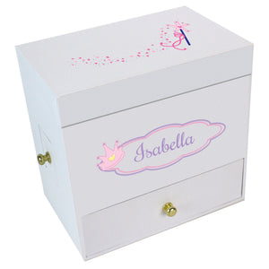 Fairy Princess Deluxe Musical Ballerina Jewelry Box