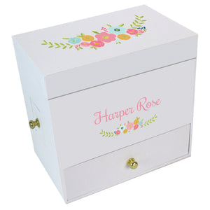 Floral Wreath Jewelry Box