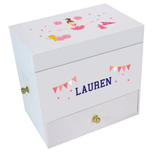 Cheerleader Deluxe Musical Ballerina Jewelry Box