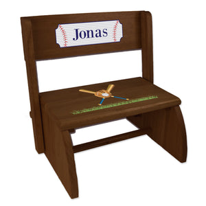 Personalized Baseball EspressoStool