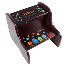 Personalized Monster Espresso Two Step Stool
