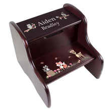 Personalized Pirate Espresso Two Step Stool