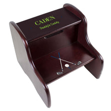 Personalized Golf Espresso Two Step Stool