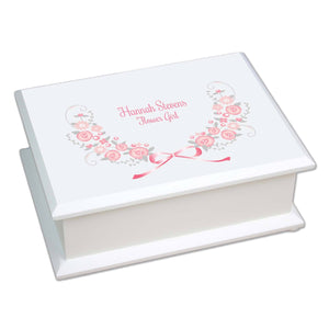 Personalized Girls Cross Jewelry Box