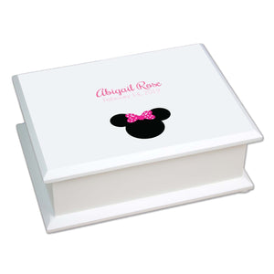 Lift Top Jewelry Box - Single Mouse