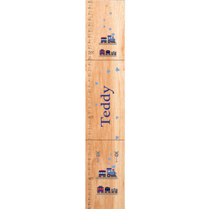 Personalized Natural train Growth Chart
