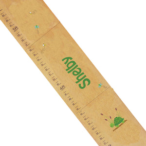 Personalized Natural Growth Chart With Turtle Design